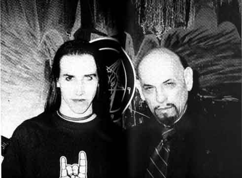 Marilyn Manson & Anton Lavey